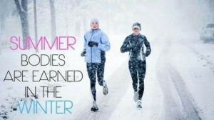 A little motivation for these winter runs!