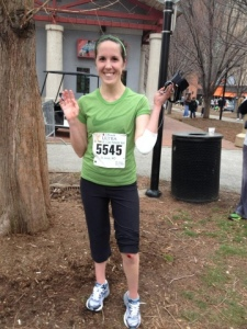 Last year at the St. Patrick's Day Race - Lots of cuts/blood, but also a lot of fun!