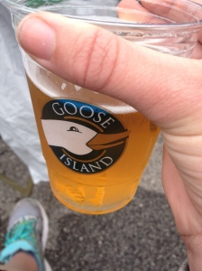 Post-marathon beverage.