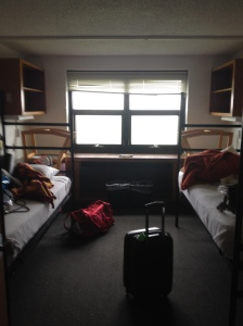 Our dorm room at UWS