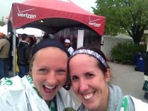 #Marathoners ! (I'm not sure I've ever looked as exhausted in a pic as I did in this one!)