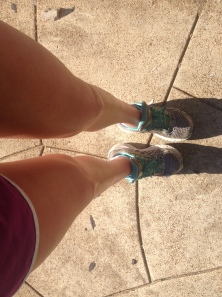 On a hot run in the STL!