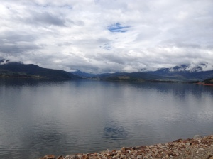 The view from Lake Dillon during one of my runs