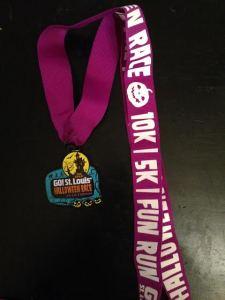 Cute race medal!