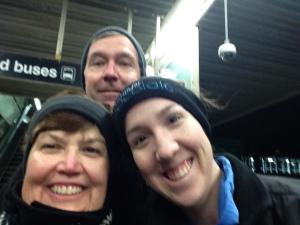 Benson family ( minus Lauren) selfie!