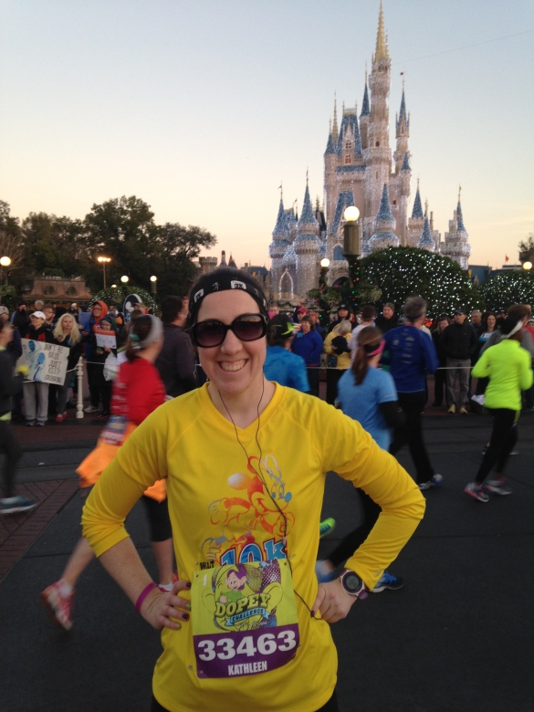 At race number 3 - the Walt Disney World Half Marathon!